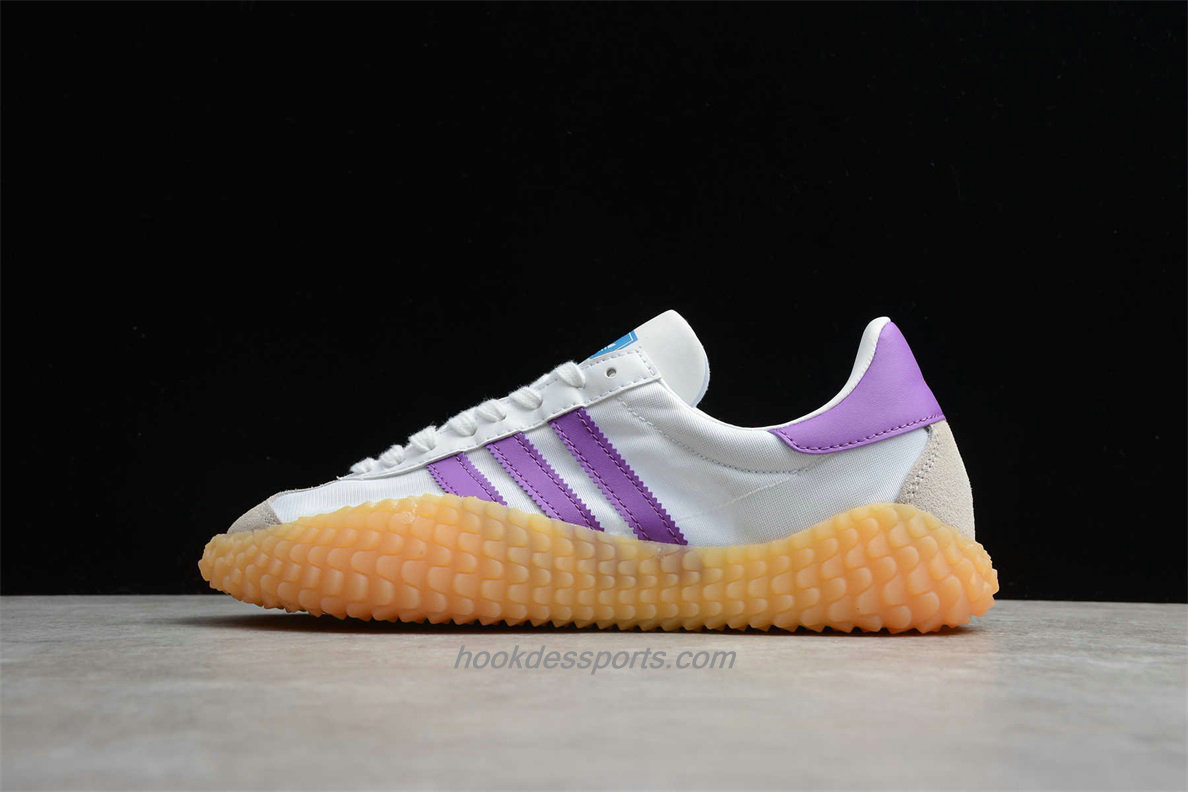 Chaussures Adidas Country x Kamanda EE5667 Blanc / Violet