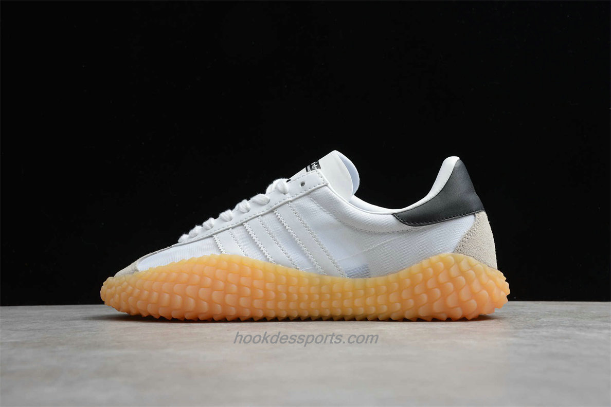 Chaussures Adidas Country x Kamanda EE9090 Blanc / Noir / Le sable