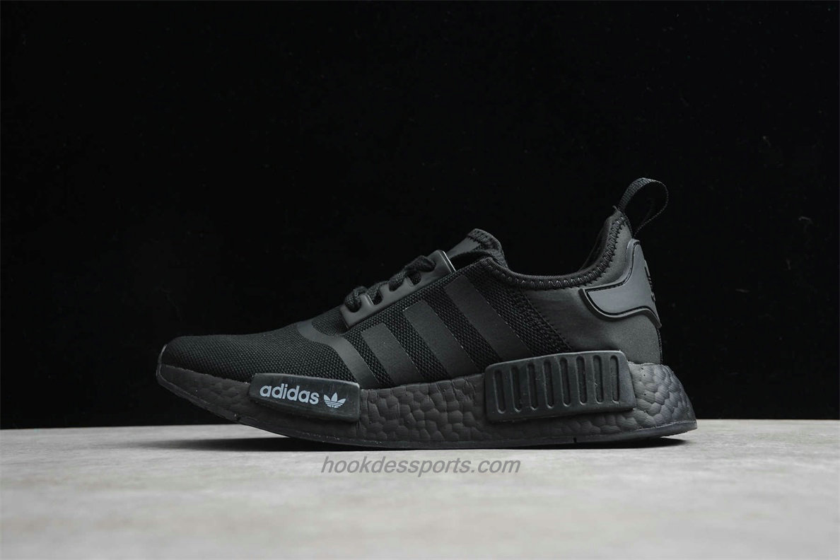 Chaussures 2020 Adidas NMD R1 Boost FV9015 Noir