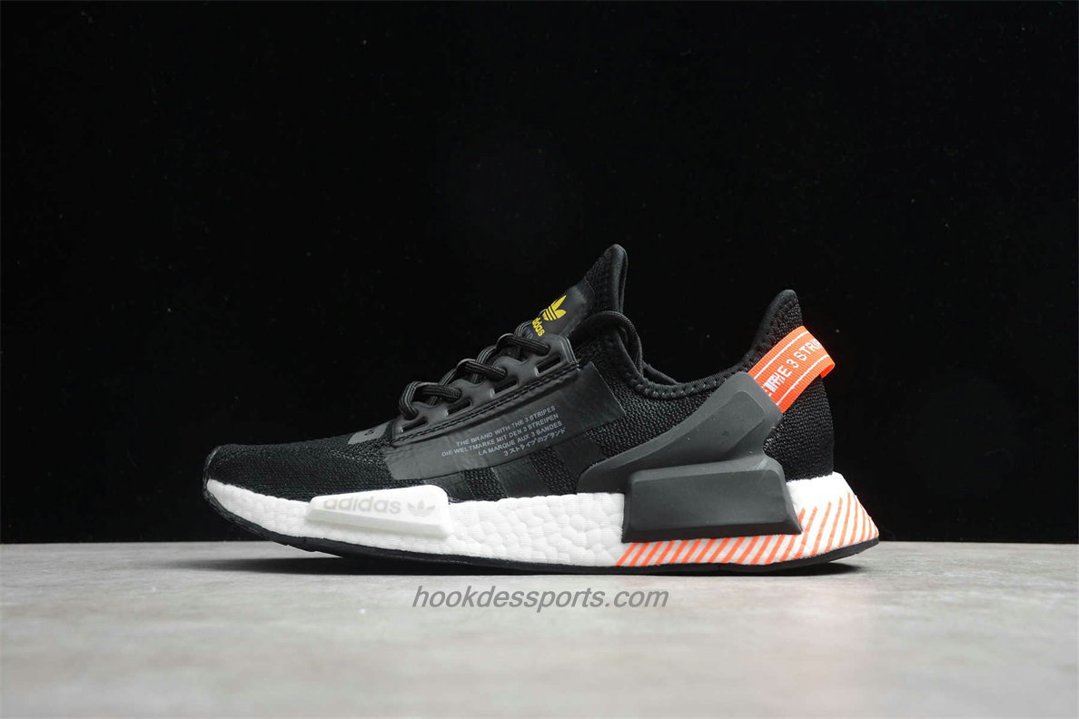 Chaussures Adidas Originals NMD R1 V2 FW6412 Noir / Blanc / Orange