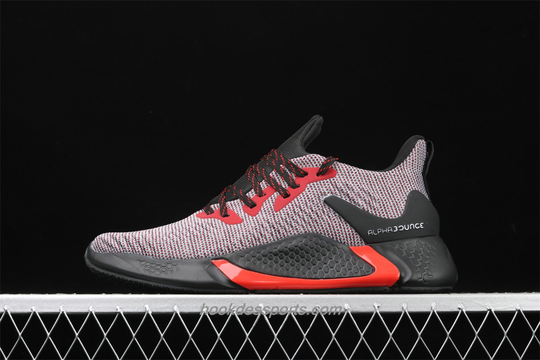 Chaussures Adidas Alphabounce Beyond CG5597 Hommes Blanc / Rouge / Noir