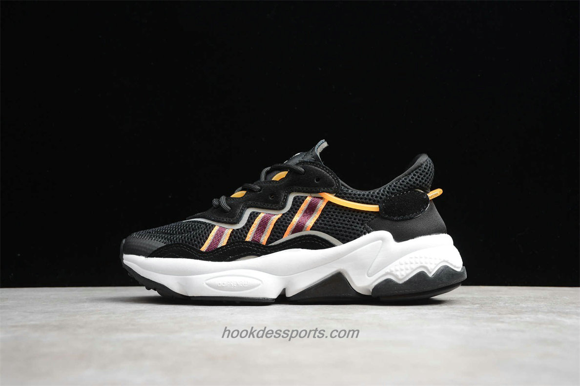 Chaussures Adidas Originals Ozweego AdiPrene EH3219 Noir / Orange / Blanc
