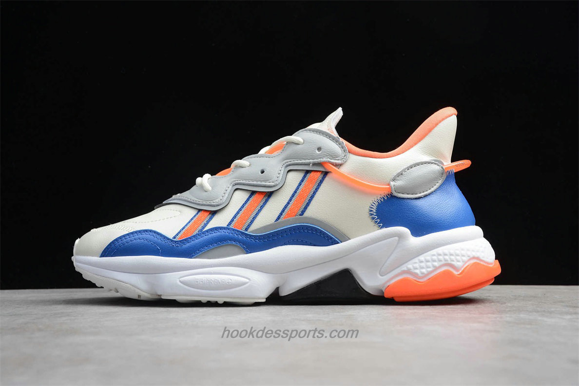 Chaussures Adidas Originals Ozweego FV3576 Beige / Bleu / Orange