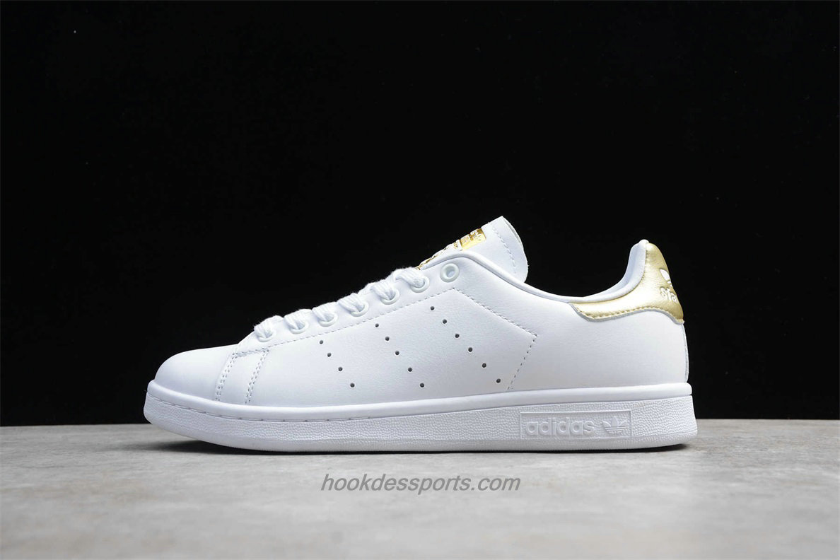 Chaussures Adidas Originals Stan Smith BD8836 Blanc / Or