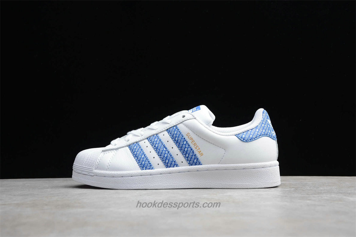 Chaussures Adidas Originals Superstar AC8574 Blanc / Bleu