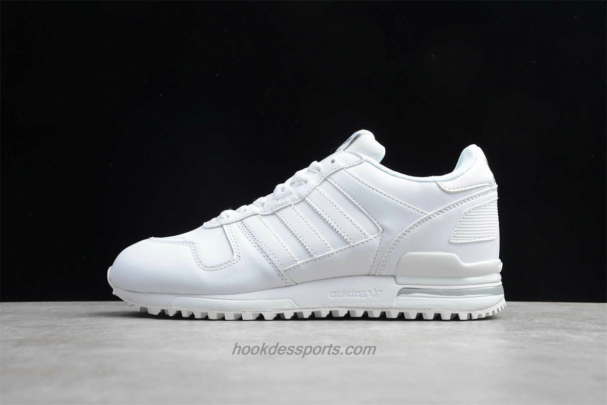 Chaussures Adidas Originals ZX 700 Leather G62110 Blanc