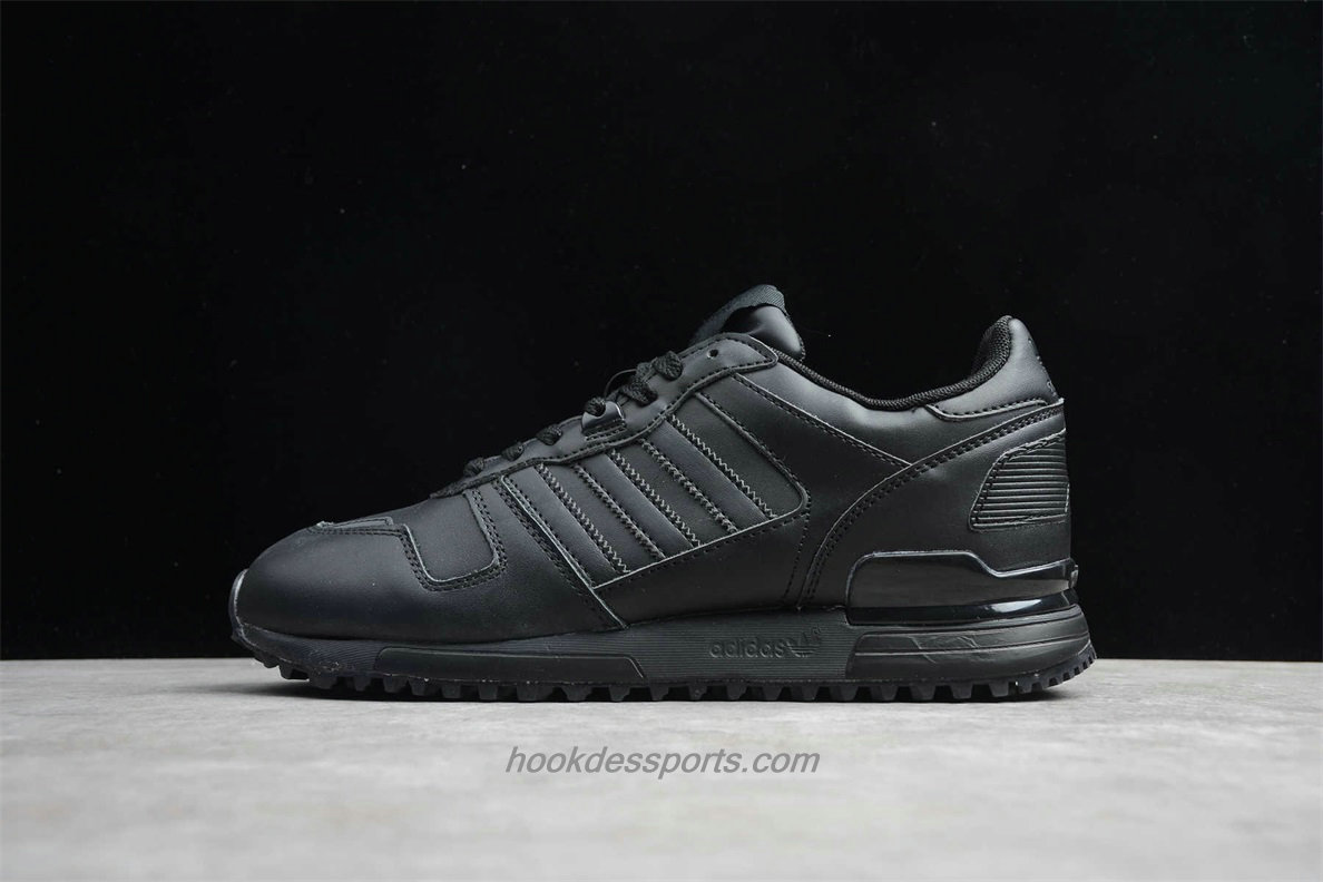 Chaussures Adidas Originals ZX 700 Leather S80528 Noir