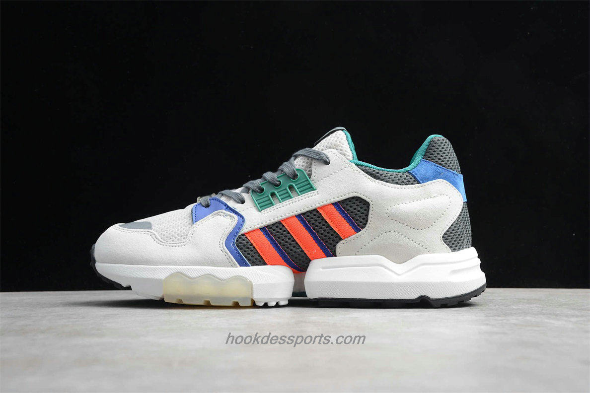 Chaussures Adidas ZX Torsion EE4789 Sable / Gris / Orange / Bleu