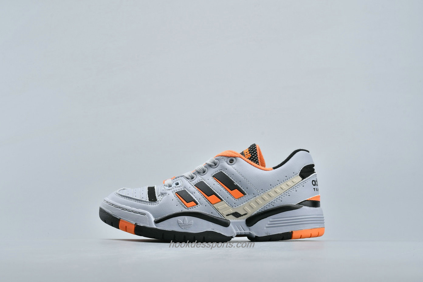 Chaussures Adidas Torsion Edberg Comp EF7751 Gris / Orange / Noir
