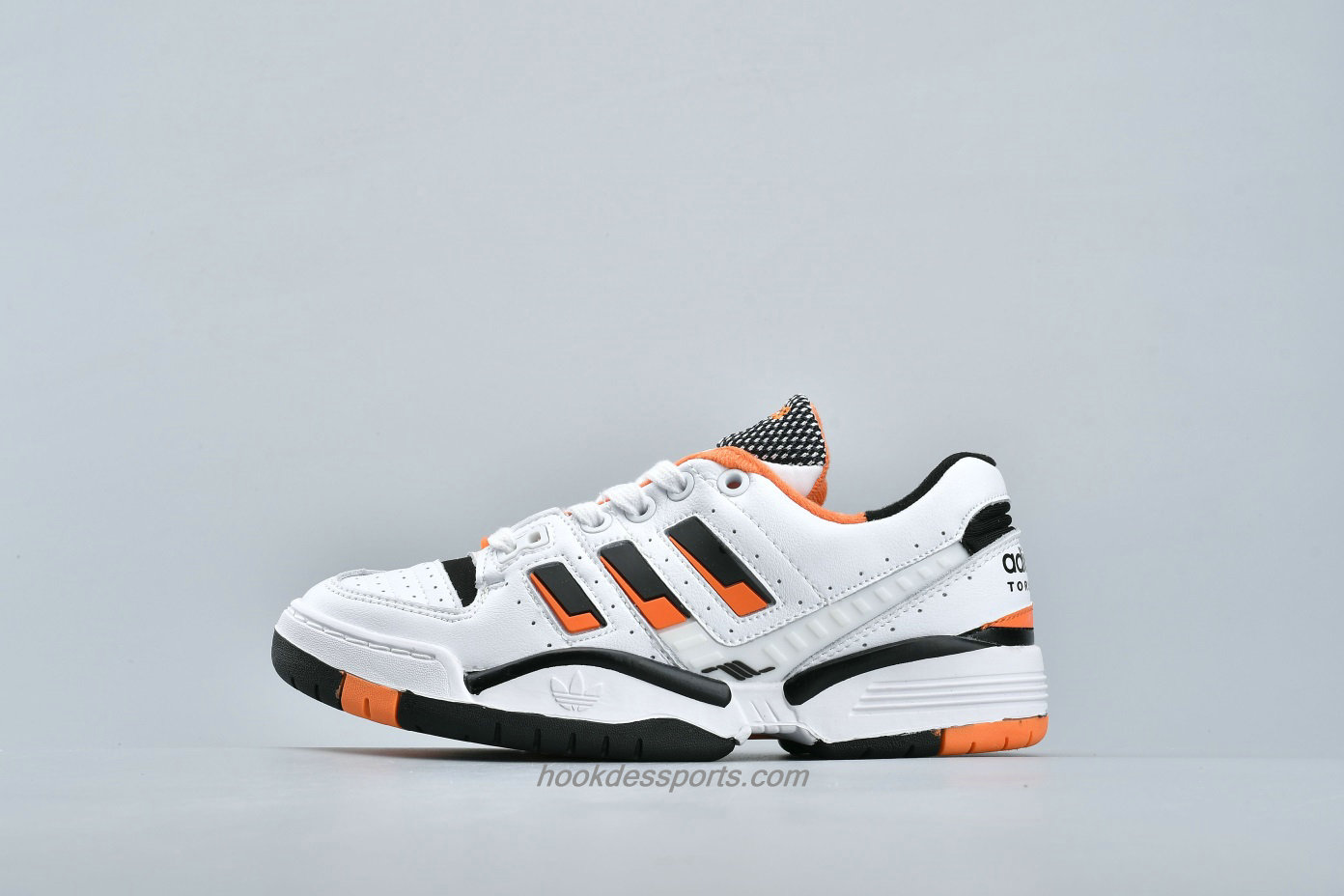 Chaussures Adidas Torsion Edberg Comp EF7752 Blanc / Noir / Orange